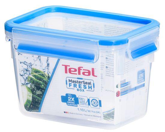 TEFAL MASTER SEAL FRESH téglalap alakú doboz 1,1 l K3021302