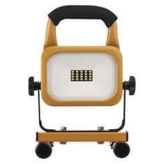 Emos LED reflektor AKU nabíjecí přenosný, 10 W studená bílá