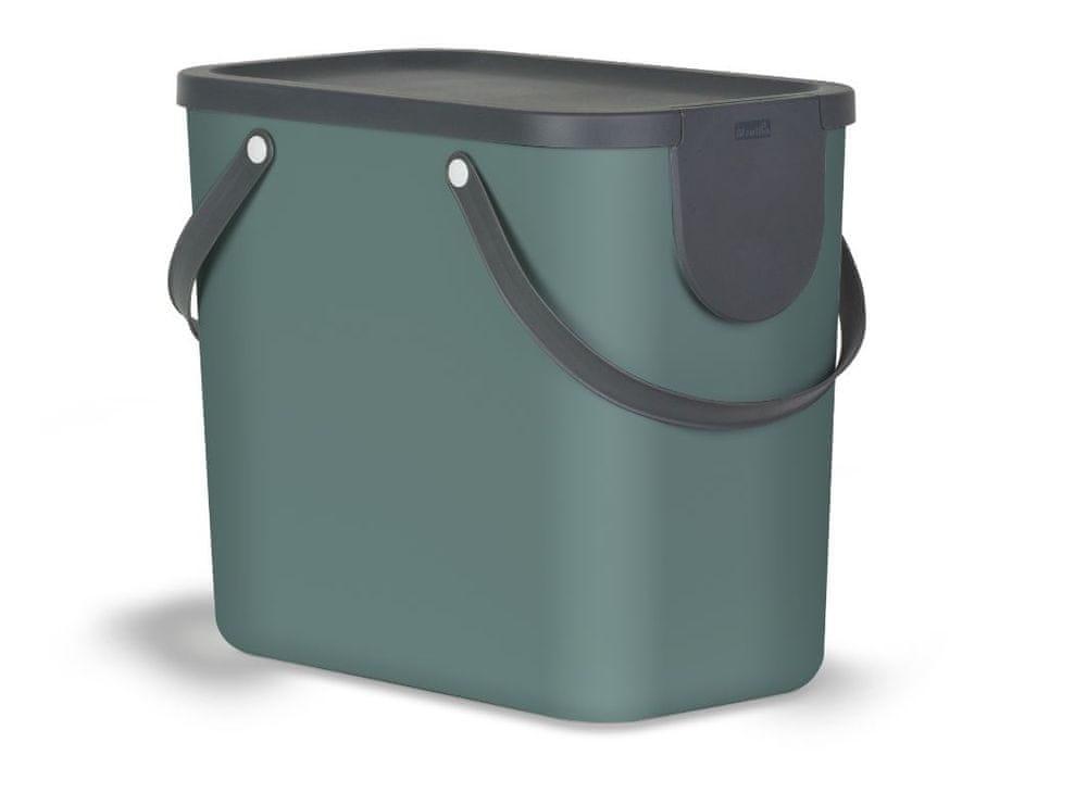 Rotho Koš na třídění odpadu tmavě zelený