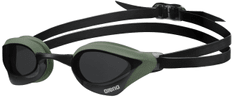 ARENA okulary pływackie Cobra Core Smoke-Army-Black