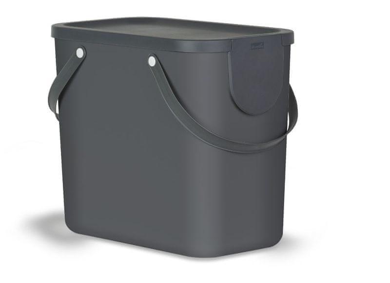 Rotho Koš na třídění odpadu černý