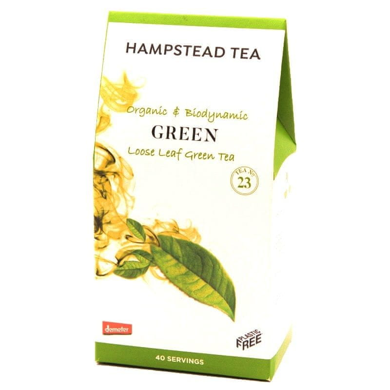 Hampstead Tea London BIO zelený sypaný čaj 100g