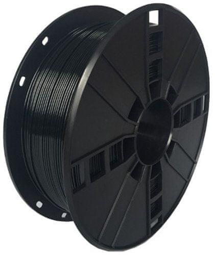 Gembird tisková struna (filament), PETG, 1,75mm, 1kg, černá (3DP-PETG1.75-01-BK)