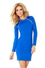Numoco Ženska obleka 130-4, kraljevsko modra, L
