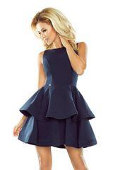 Numoco Ženska obleka 169-2, temno modra, M