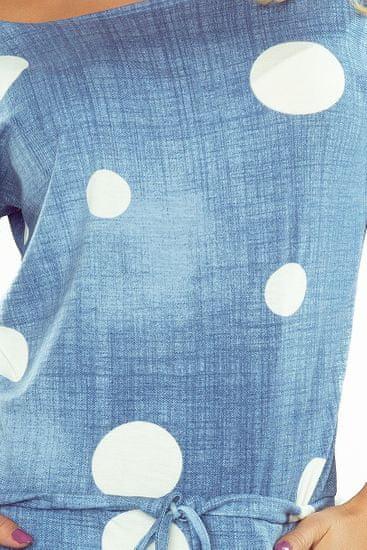 Numoco Női ruha 13-74, világos kék farmer, XXL
