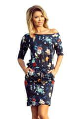 Numoco Dámské šaty 13-91, vícebarevné, XL