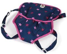 Bayer Chic Klokanka pre bábiky modro - ružová hviezdička