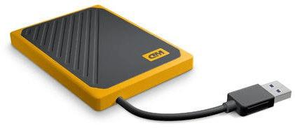 Western Digital My Passport GO - 1TB, žlutá (WDBMCG0010BYT-WESN)