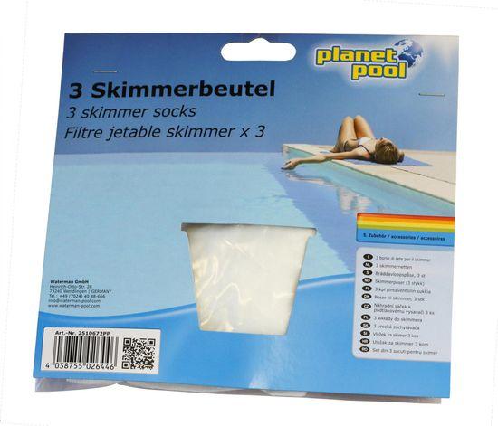 Planet Pool vložek filtrirni za skimer, 3 kosi