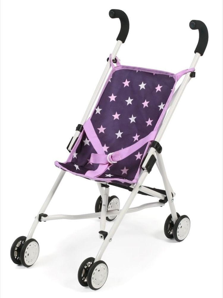 Bayer Chic Mini-Buggy ROMA fialová hvězdička