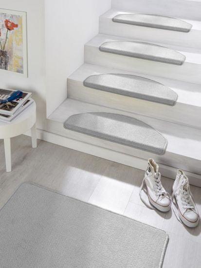 Hanse Home Sada 15ks nášlapú na schody: Fancy 103006 šedé