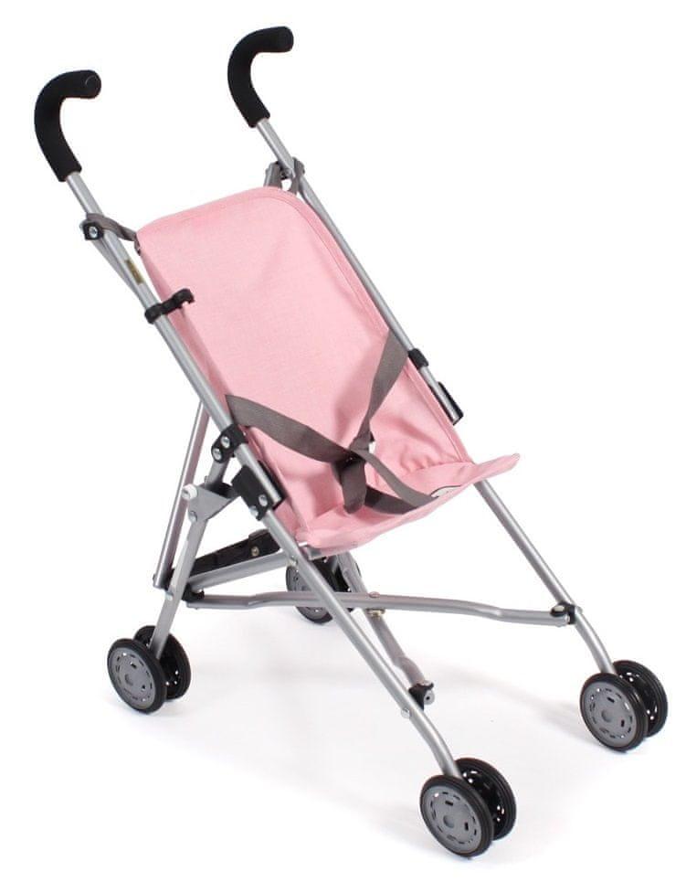Bayer Chic Mini-Buggy ROMA šedivo-růžová