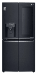 LG americká lednička GMX844MCKV InstaView + 10 let záruka na kompresor