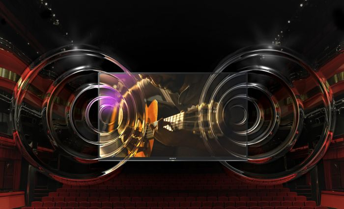 TV Sony XG81