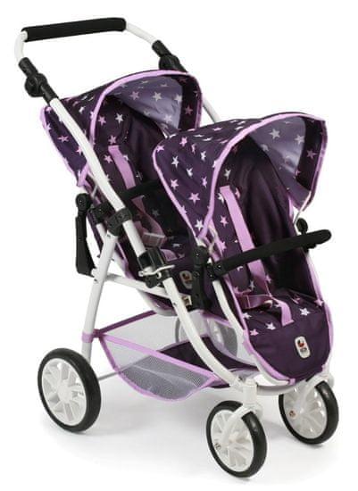 Bayer Chic voziček za dve lutki