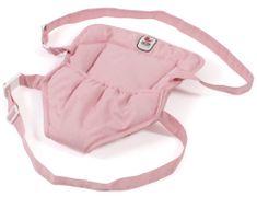 Bayer Chic kengurujček za nošenje otroka/lutke, sivo-roza