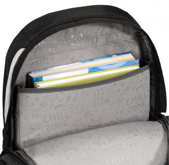 CoocaZoo plecak szkolny JobJobber2, Blue Geometric Melange