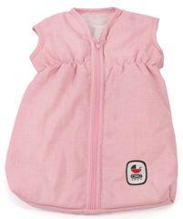 Bayer Chic spalna vreča za dojenčka/lutko, sivo-roza z zvezdicami