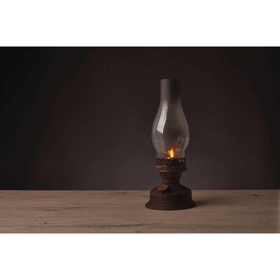Emos LED dekoracija - lanterna vintage, petrolejka, 3AA, timer