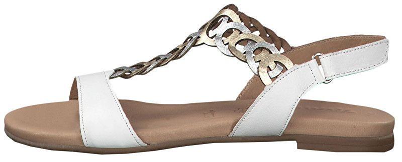 7aa1ec086e6f Tamaris Dámské sandále 1-1-28127-22-197 White Comb (Velikost