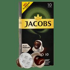 Jacobs kawa w kapsułkach Espresso Intenso Intenzita 10 - 100 aluminiowych kapsułek kompatybilnych z ekspresami Nespresso® *