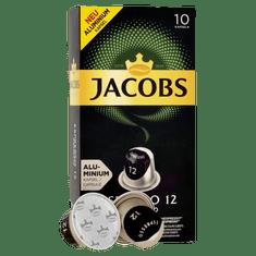 Jacobs Espresso Ristretto Intenzita 12 - 100 hliníkových kapsulí kompatibilných s kávovary Nespresso® *