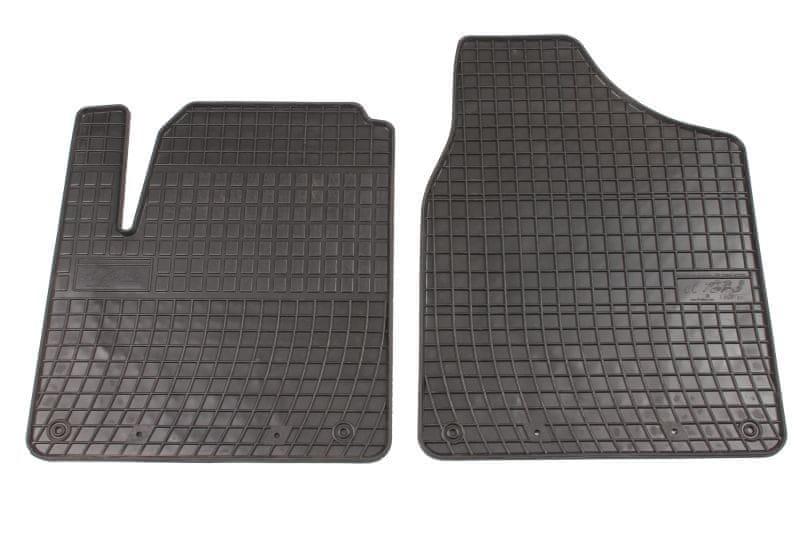MAMMOOTH Koberce gumové, Ford Galaxy, Seat Alhambra, VW Sharan (VAN) z let 03.1995-03.2010, sada 2 ks, černé