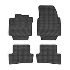 MAMMOOTH Koberce gumové, Renault Captur (liftback) od 06.2013, sada 4 ks, černé