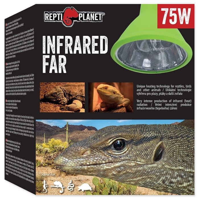 REPTI PLANET žárovka Far Infrared HEAT 75 W