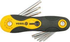 Vorel TORX 8db-os kulcskészlet CrV