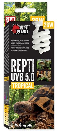 REPTI PLANET żarówka Repti UVB 5.0 26 W