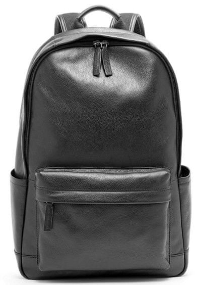 8366f78493 Fossil pánský černý batoh Buckner Backpack