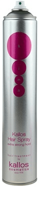 Kallos Extra erős tartást biztosító hajlakk proteinnel(Hair Spray Extra Strong With Silk Protein) 500 ml