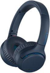 Sony brezžične slušalke WHXB700L, modra