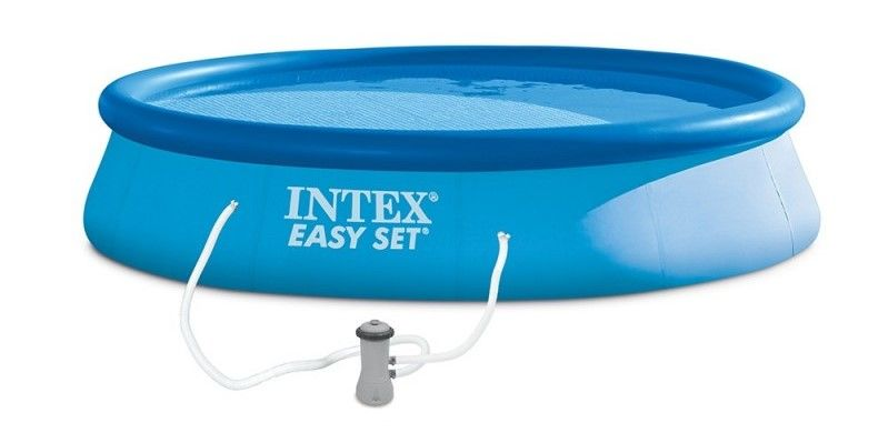 Intex Easy Set 396 × 84 cm, kartušová filtrace (28142NP)