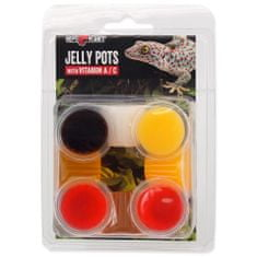 REPTI PLANET Krmivo Jelly Pots Mixed 8 ks