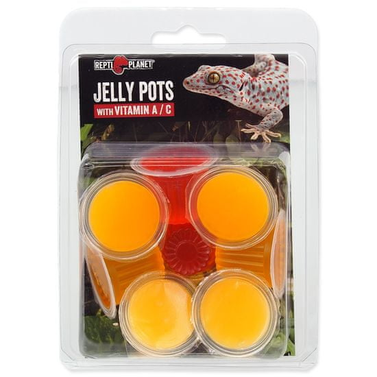 REPTI PLANET krma Jelly Pots Fruit, 8 ks