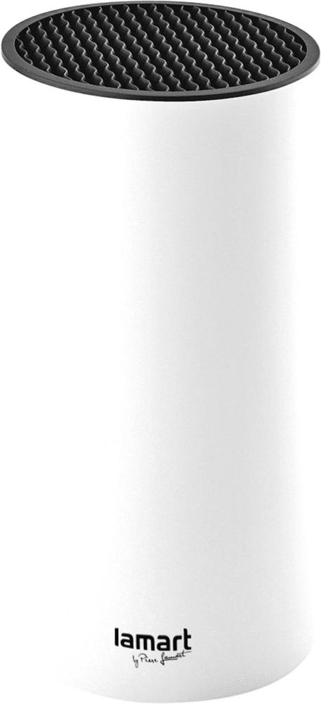 Lamart LT2082 BLOK NA NOŽE 22,5CM BÍLÝ