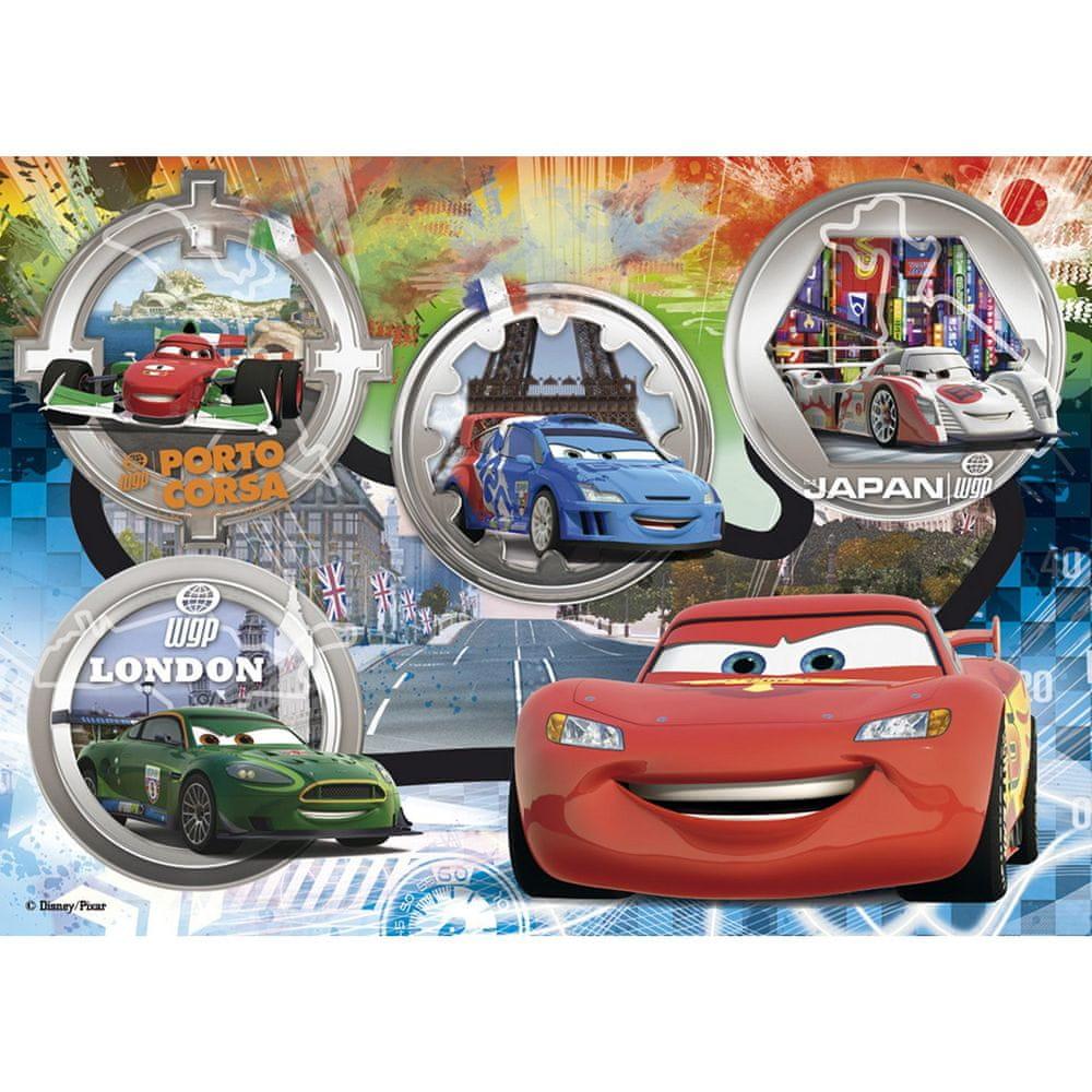 Clementoni Jigsaw Puzzle - 24 dílků - Maxi : Cars