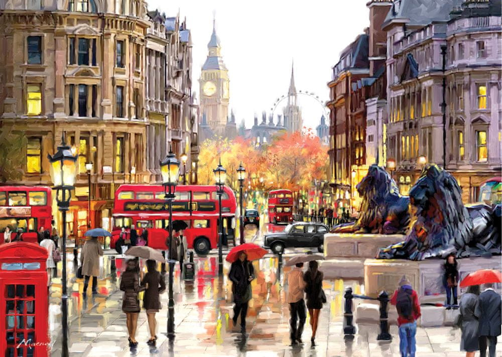 Art puzzle Puzzle 2000 dílků London