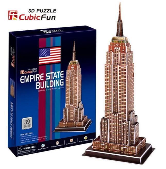 CubicFun 3D puzzle Empire State Building 39 ks