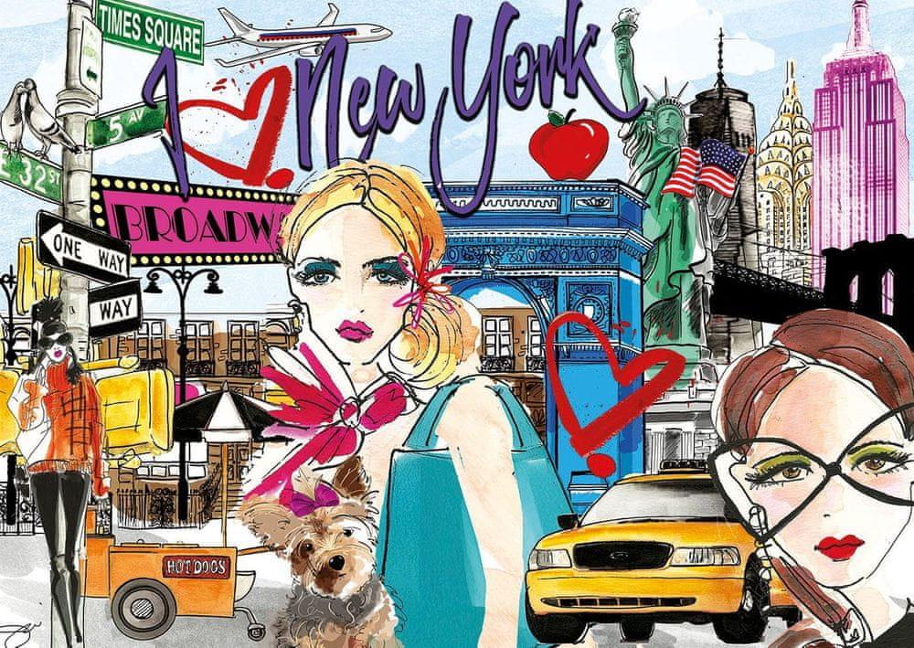 Educa Puzzle 500 dílků New York