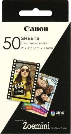 Canon foto papir ZINK za Zoemini, 50 kosov