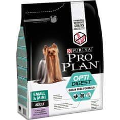 Purina Pro Plan Small & Mini Adult OPTIDIGEST Grain Free pulyka 2,5 kg