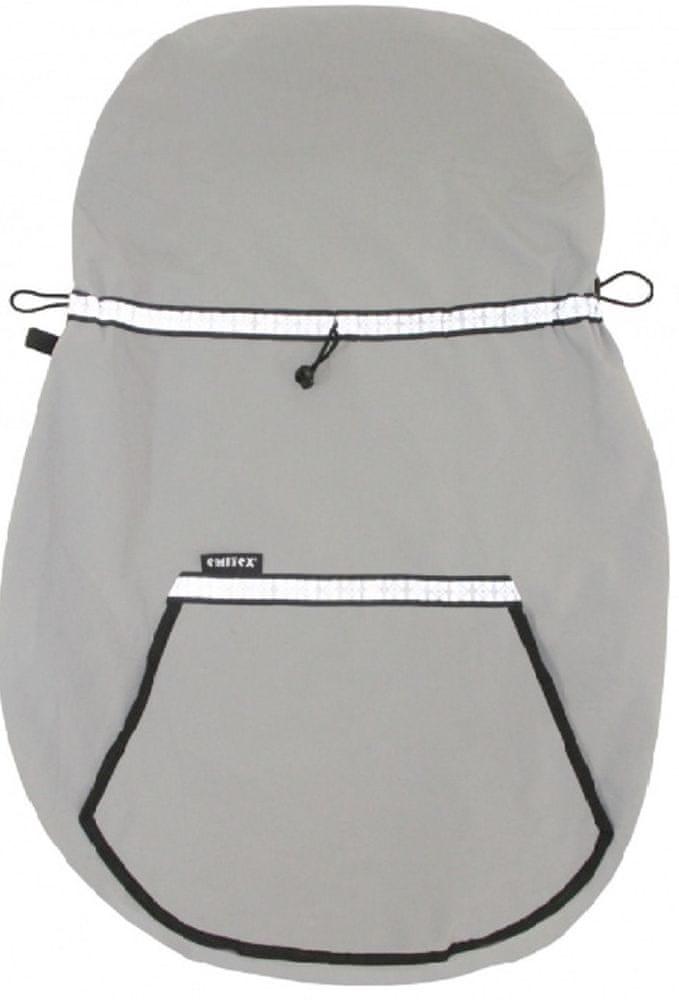 Emitex Ochranná kapsa na nosítko šedá 0 - 3