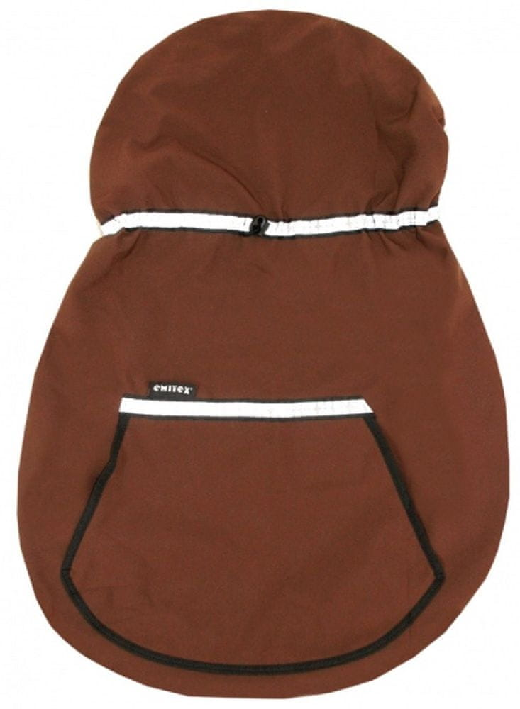 Emitex Ochranná kapsa na nosítko hnědá 0 - 3