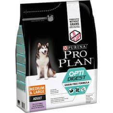 Purina Pro Plan Medium & Large Adult OPTIDIGEST Grain Free pulyka 2,5 kg