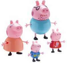 TM Toys Zestaw figurek Świnki Peppa 4 sztuki