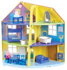 TM Toys Peppa Pig Rodinný dom s príslušenstvom